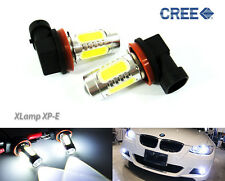 Pair H11 H8 with CREE chip Plasma LED Projector Fog Light For BMW Sedan Coupe GT
