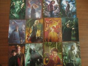 Panini harry potter 12 cards