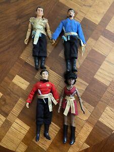 Star Trek Mego mirror universe set of 4