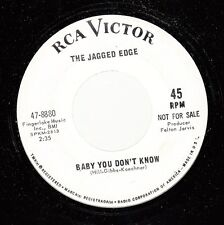 Hear! Soul Garage 45 The Jagged Edge - Baby You Don'T Know / Deep Inside On Rca