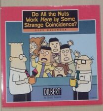"""DILBERT"" 2002 WALL CALENDAR By Scott Adams - RARE COLLECTABLES - NEW / SEALED"