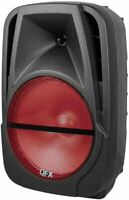 "QFX PBX-BF12 Portable Battery-Powered 12"" Party Speaker w/ Bluetooth/USB/SD/FM"