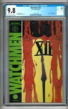 """Watchmen #12 (1987) CGC 9.8 OW/W Pages  Moore - Gibbons  """"Death of Rorschach"""""""