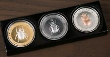 2017 3 Oz Silver SCARAB SELECTION II PROOF Coins Set -  Cook Islands.