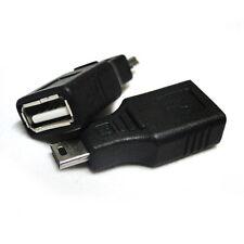 2pcs USB 2.0 Type A to Mini USB 5-Pin Type B F/M Adapte 1.4V HDMI Cable 3D
