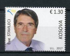 Kosovo 2017 MNH Esat Stavileci 1v Set Writers Academics Stamps