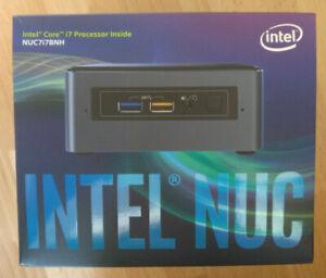 Intel NUC Barebones - NUC7i7BNH - Intel i7-7567U - Mini Desktop PC - Vesa mount
