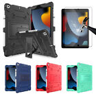 For iPad 9th 8th Generation,10.2'' (2021) Case Cover Kickstand,Screen Protector