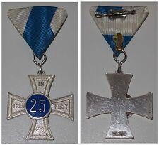 Medaille 25 In Treue Fest / Bayerische Krieger-Kameradschaft / Stufe Silberf.
