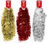 2M (6.5Ft) Luxury Chunky Tinsel Chrismas Tree Decoration Xmas Garland 3 Colour