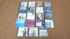 Collection job lot of 19 classical music cd's, free postage
