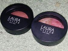 (2) Laura Geller NY Baked Blush N Brighten+Blush N Glow Tropical Hues NEW