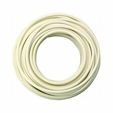 Coleman Cable 55667233 18 Gauge Automotive Copper Wire, White, 33'