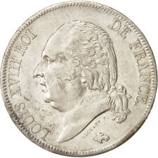 Monnaies, France, Louis XVIII, 5 Francs, 1819 A, Paris, Argent, KM:711.1 #47112
