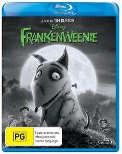 Frankenweenie (Blu-ray, 2013) brand-new sealed fast safe shipping