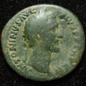 Antoninus Pius AE as, FELICITAS AVG / COS IIII / S C, Rome 148-149AD, RIC 860a