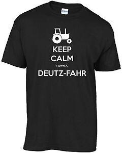 Tractor, Keep calm I own a deutz-fahr t-shirt