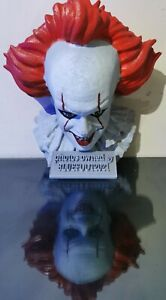 Pennywise Wall Hanging Half Size Bust Stephen King's IT Horror movie