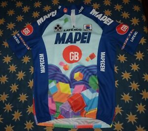 Mapei cycling jersey Sportful 1996 era Size L   GREAT CONDITION!