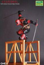 Crazy Toys Collectible  X-Men Super Deadpool Hurdle Figure New No Box