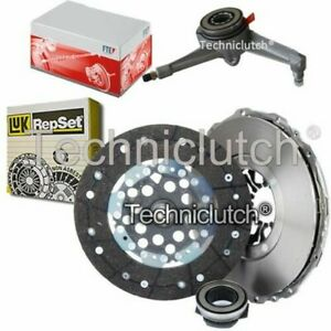 LUK 3 PART CLUTCH KIT AND FTE CSC FOR VW TRANSPORTER / CARAVELLE BUS 2.5 TDI