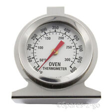 UNIVERSAL Oven Cooker Temperature Gauge Thermometer Stainless Steel Analogue