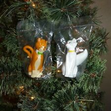 HARD TO FIND - Disney 2 piece ARISTOCATS MOUSE ORNAMENT SET - Duchess & O'Malley