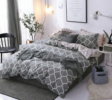 5Pcs Super Soft Bedding Comforter Set Bed in A Bag,Queen Size,Geometric Pattern