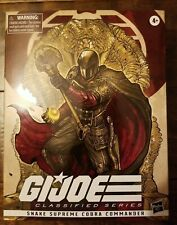 GI Joe Classified Cobra Commander Snake Supreme Hasbro 6? NEW Read Description