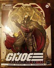 GI Joe Classified Cobra Commander Snake Supreme Hasbro 6? NEW Read Description