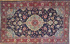 Sensational Sarouk - 1940s Antique Persian Rug - Floral Carpet - 4.4 x 6.10 ft.