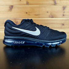 Nike Air Max 2017 Running Men's Shoes Black Anthracite White 849559-001