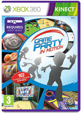 Game Party in Motion XBox 360 Kinect Game *in Good Condition*