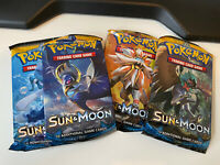 4x POKEMON SUN & MOON BOOSTER PACKS | 4 BOOSTER PACKS