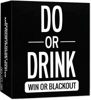 Do or Drink Game - Drinking Cards - Fun & Dirty Adult, Dare or Shots for