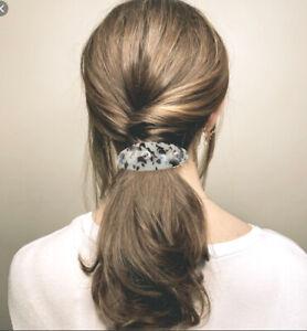 Large French Hair Barette