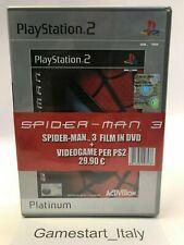 SPIDERMAN SONY PS2 VIDEOGIOCO NUOVO SIGILLATO + FILM DVD SPIDERMAN 3 - NEW