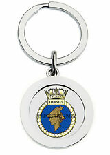 HMS HERMES KEY RING (METAL)
