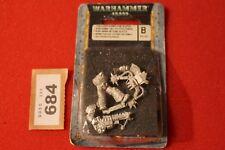 Games Workshop WARHAMMER 40k Chaos Space Marines del rumore Slaanesh Figura Metallo fuori catalogo