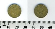 Hong Kong 1950 - 5 Cents Nickel Brass Coin - King George VI