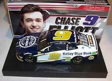 1:24 ACTION 2018 #9 KELLEY BLUE BOOK CHEVROLET CAMARO CHASE ELLIOTT 1/893 NIB