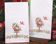 Cardinal Chalet Hand Towels Cross Stitch Kit