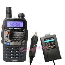 BaoFeng Dual band UV-5RA VHF&UHF Radio FM 65-108MHZ UV-5R  With Car Charger