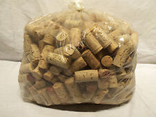4lbs Hand Sorted Printed Recycled Natural Wine Corks For Crafts