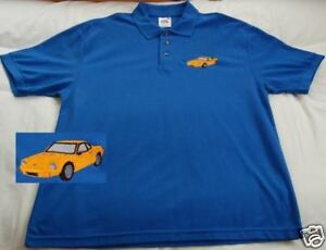 Hillman Ginetta embroidered on Polo Shirt