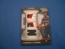 Jeff Teague Certified 09-10 Fabric Of The Game NBA Diecut PRIME 12/25 FOG-JT