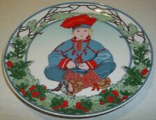 Villeroy & and Boch UNICEF No.7 Lapland plate boxed CHILDREN OF THE WORLD