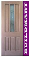 Solid Timber Cass 1 Entry House Door Triple Glazed