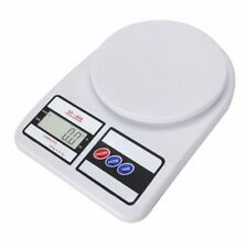 White Electronic Kitchen Weigh Package Shipping Postal Scale LCD 10kg/0.5g 22lb