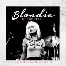 BLONDIE New Sealed 2018 PREVIOUSLY UNRELEASED LIVE 1977 CONCERT CD